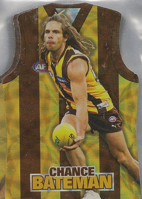 Hawthorn Hawks, Guernsey Die-cut Team Set, 2009 Select AFL Champions