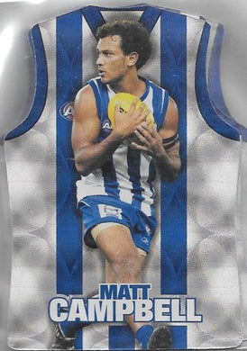 North Melbourne Kangaroos, Guernsey Die-cut Team Set, 2009 Select AFL Champions