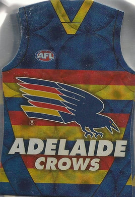 Adelaide Crows, Guernsey Die-cut Team Set, 2009 Select AFL Pinnacle