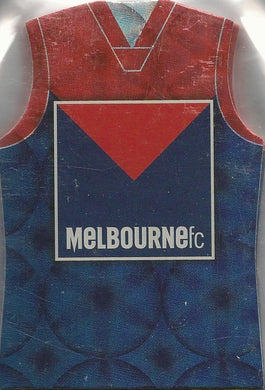 Melbourne Demons, Guernsey Die-cut Team Set, 2009 Select AFL Pinnacle