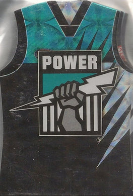 Port Adelaide Power, Guernsey Die-cut Team Set, 2009 Select AFL Pinnacle