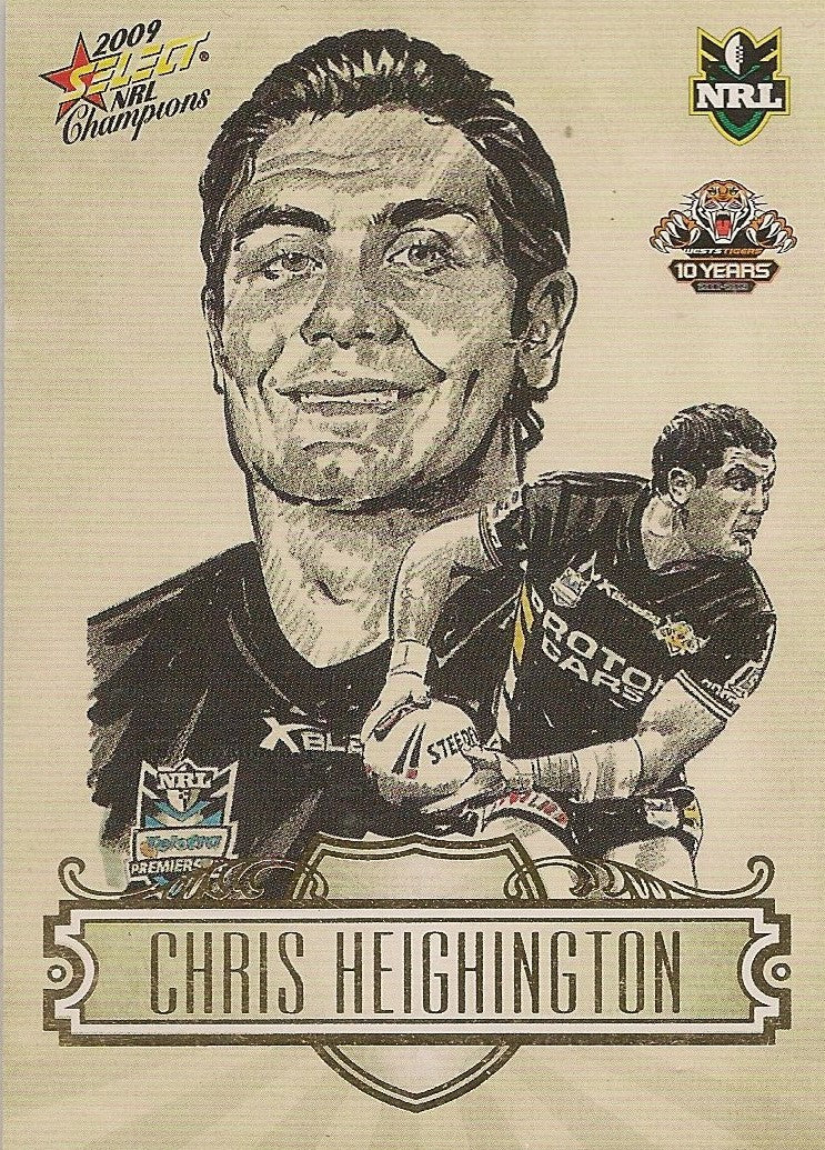 Chris Heighington, Sketch, 2009 Select NRL Champions