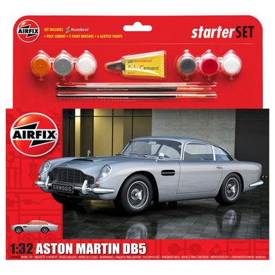 AIRFIX ASTON MARTIN DB5 - SILVER Model Kit