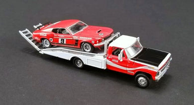 Allan Moffat Racing, Trans Am Mustang with Ford F-350 Ramp Truck, 1:64 Diecast Vehicle