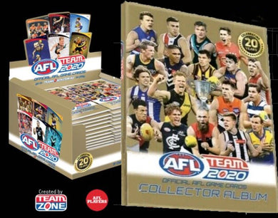 2020 Teamcoach AFL 36 pack box & Album