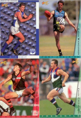 1997 Select AFL Base Set of 200 cards
