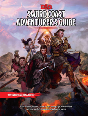 Dungeons & Dragons D&D Sword Coast Adventure Guide