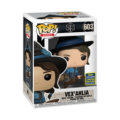 Vox Machina - Vex on Broom SDCC 2020 US Exclusive Pop! Vinyl [RS]