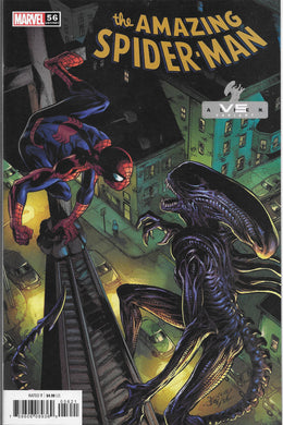 The Amazing Spider-man #56 Vs Alien Variant Comic