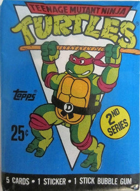 1990 Topps Teenage Mutant Ninja Turtles Pack of cards