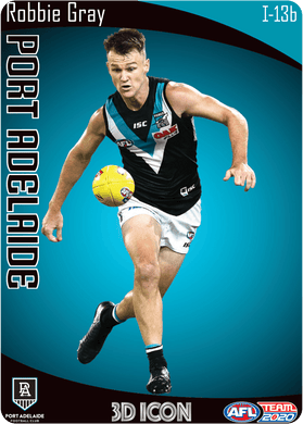 Robbie Gray, 3D Icon, 2020 Teamcoach AFL