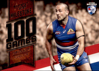 Tory Dickson, 100 Games Milestone, 2020 Select AFL Footy Stars
