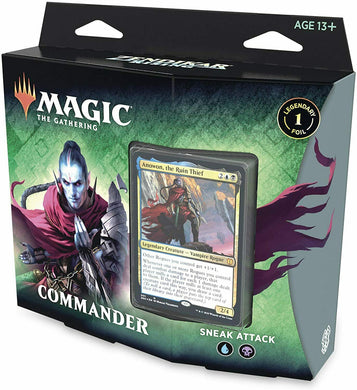 Sneak Attack - Magic the Gathering - Zendikar Rising Commander Deck