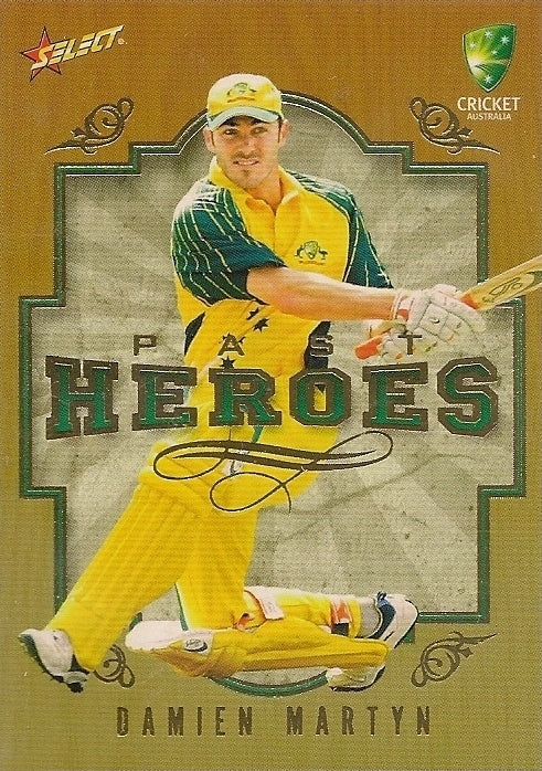 Damien Martyn, Past Heroes, 2008-09 Select Cricket