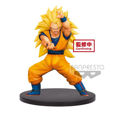 Banpresto, Dragon Ball Z, Super Saiyan 3 Son Gokou, Chosenshi Retsuden Vol 4 Figure
