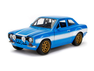 Fast & Furious, Brian's Ford Escort RS20000 MK1, 1:24 Diecast Vehicle
