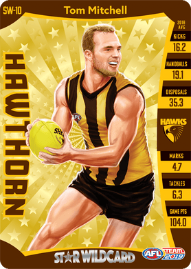 Tom Mitchell, Star Wildcard, 2019 Teamcoach AFL
