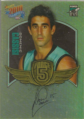 Port Adelaide Power, Force 5 Team Set, 2010 Select AFL Champions