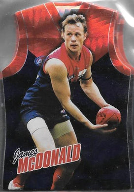 Melbourne Demons, Guernsey Die-cut Team Set, 2010 Select AFL Champions