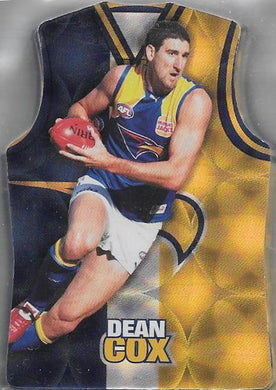 West Coast Eagles, Guernsey Die-cut Team Set, 2009 Select AFL Champions