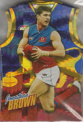 Brisbane Lions, Guernsey Die-cut Team Set, 2010 Select AFL Champions
