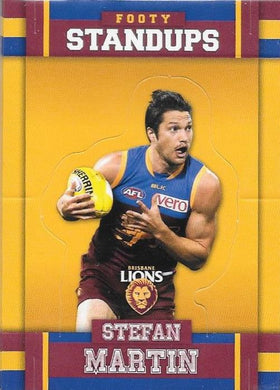 Brisbane Lions, Standups Team Set, 2017 Select AFL Footy Stars