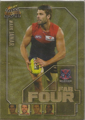 Melbourne Demons, Fab Four Team Set, 2011 Select AFL Champions