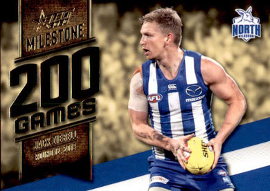 Jack Ziebell, 200 Games Milestone, 2020 Select AFL Footy Stars