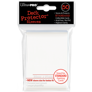 ULTRA PRO Deck Protector White 50 ct