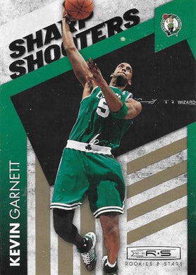 Kevin Garnett, Sharp Shooters GOLD, 2010-11 Panini Rookies & Stars Basketball NBA