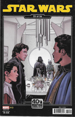 Star Wars #10 Comic 40th Anniversary Variant