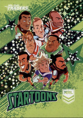 Header 2, Green Startoons, 2020 TLA Traders NRL