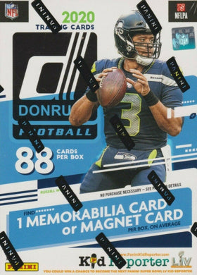 PANINI 2020 Donruss Football NFL Blaster