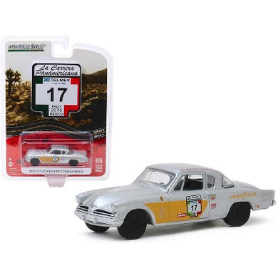 1953 Studebaker Champion, #17, La Carrera Panamericana, 1:64 Diecast Vehicle