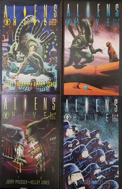 Aliens Hive Comic Set of 4. #1, #2, #3 & #4.