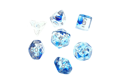 CHX 27466 Nebula Dark Blue/white 7-Die Set