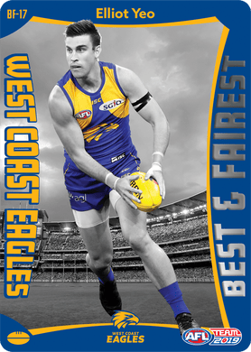 Elliot Yeo, Best & Fairest, 2019 Teamcoach AFL