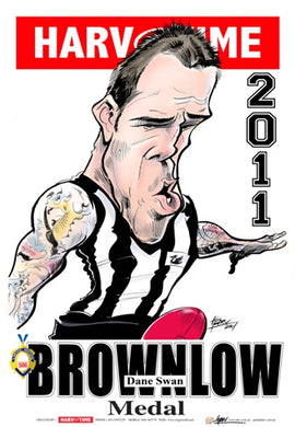 Dane Swan, Brownlow Medal Harv Time Poster
