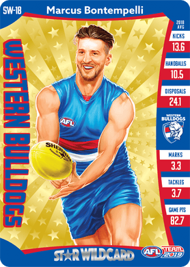 Marcus Bontempelli, Star Wildcard, 2019 Teamcoach AFL