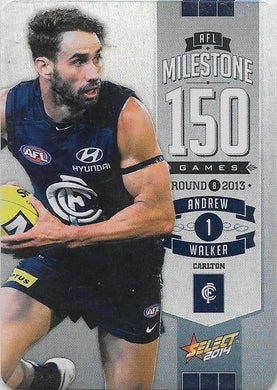 Andrew Walker, 150 Game Milestone, 2014 Select AFL Champions