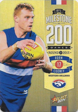 Adam Cooney, 200 Game Milestone, 2014 Select AFL Champions