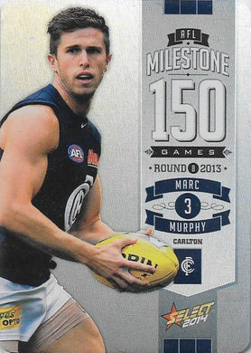 Mark Murphy, 150 Game Milestone, 2014 Select AFL Champions