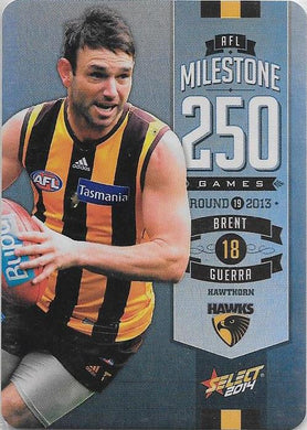 Brent Guerra, 250 Game Milestone, 2014 Select AFL Champions