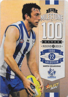 Todd Goldstein, 100 Game Milestone, 2014 Select AFL Champions