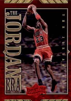 Michael Jordan, The Jordan Era, JE18, 1999-00 UD Athlete of the Century Basketball NBA