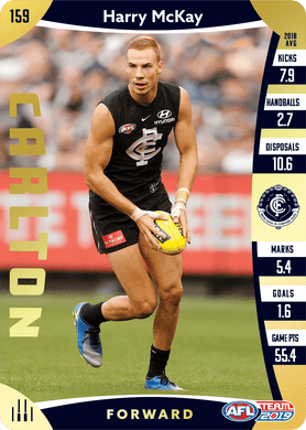 Harry McKay, Gold, 2019 Teamcoach AFL