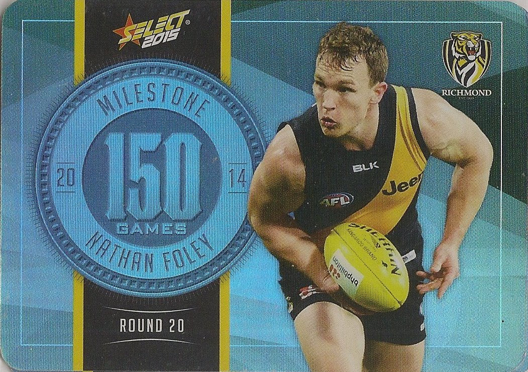 Nathan Foley, 150 Games Milestone, 2015 Select AFL Champions