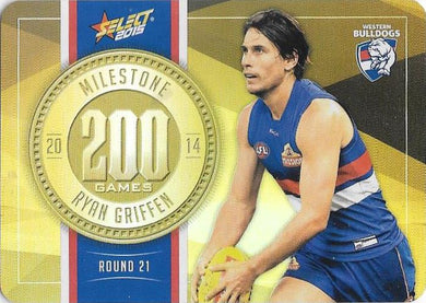 Ryan Griffen, 200 Games Milestone, 2015 Select AFL Champions