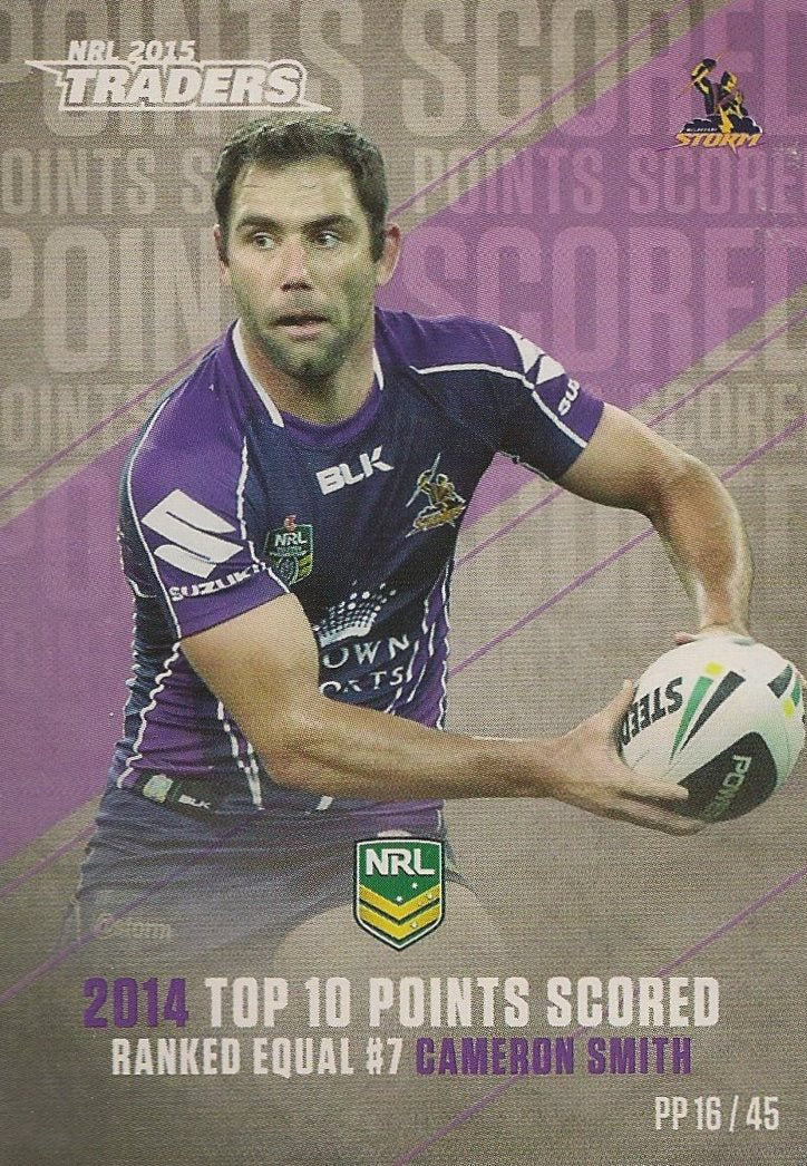 Cameron Smith, Pieces of the Puzzle, 2015 ESP Traders NRL