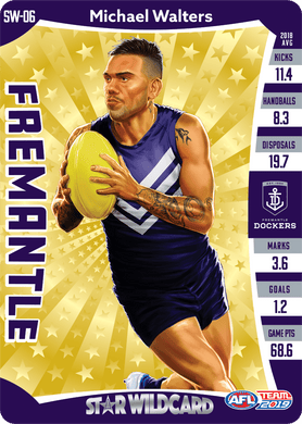 Michael Walters, Star Wildcard, 2019 Teamcoach AFL